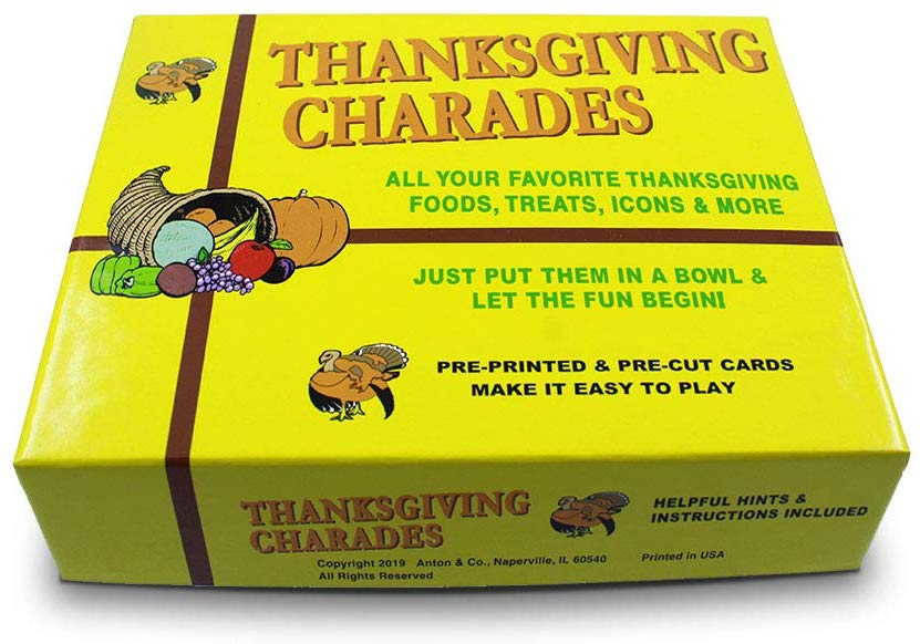 Have you ever played Thanksgiving charades? It is one of my favorite Thanksgiving games to play with my family.