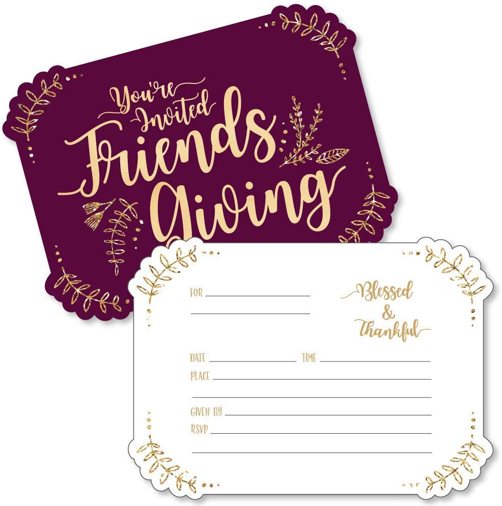 If you're in charge of Friendsgiving this year, you'll need to know these things. You'll have the best Friendsgiving ever!