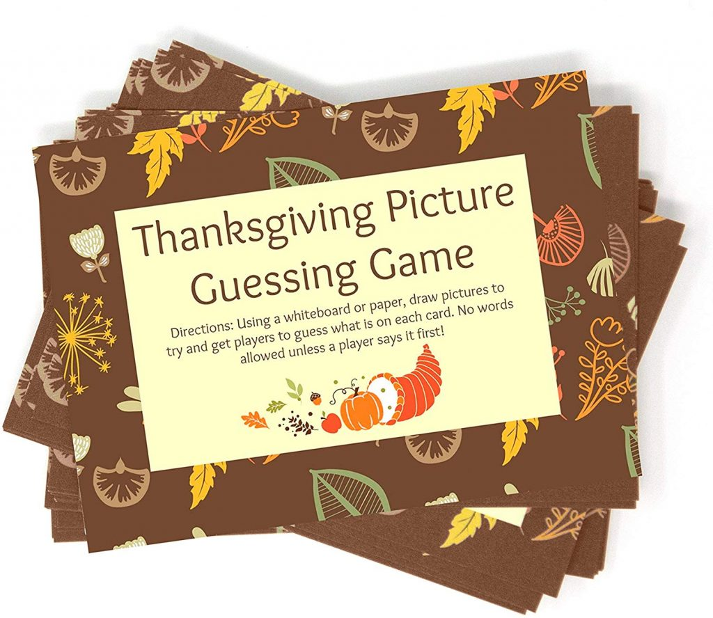 If you're looking for activities to with your family this Thanksgiving, try one of these Thanksgiving games. There is something for everyone.