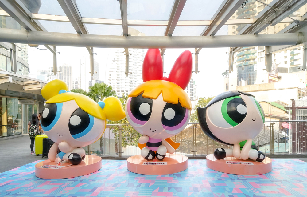 If you're looking for group costumes for you and your gal pals, The Powderpuff Girls are perfect for you!