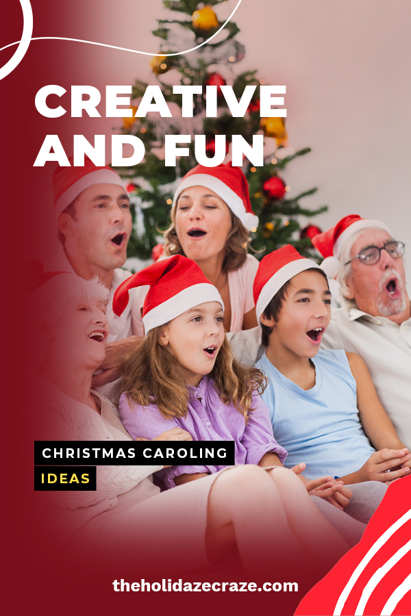 I'm a big fan of Christmas caroling. It's a great way to celebrate the season and bring joy to others. However, it seems to have lost its appeal over the last few years so we decided to spice it up a bit. Take a look at our creative and fun Christmas caroling ideas. Your family and friends will be sure to want to join you with these fun suggestions. Make the most of Christmas by going door to door and singing carols for others.  #chirstmascaroling #christmascarolingideas