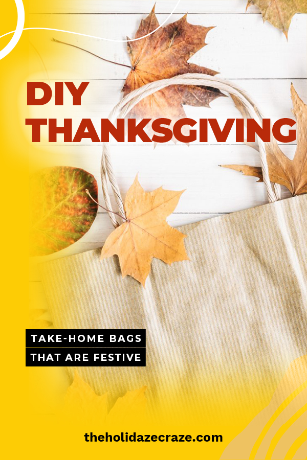 If you are like me, you eat a lot at Thanksgiving but are always surprised with how much food is left over. Send the food home with your guests in these adorable Thanksgiving take home bags. Such cute and fun designs that everyone will rave about. Put a smile on someone's face when you send them home with food in these bags. #thanksgivingtakehomebags #thanksgivingcrafts