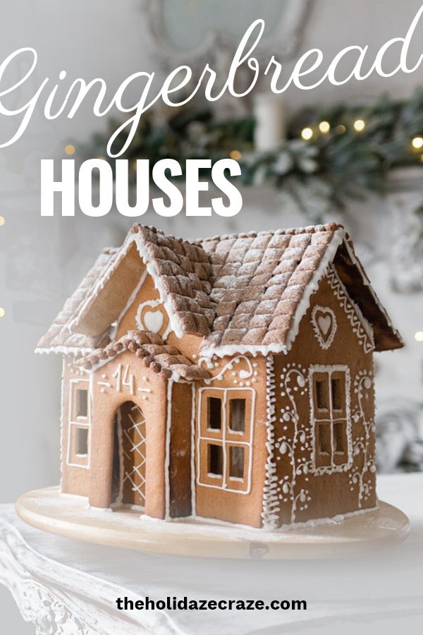 Ever wonder why we decorate gingerbread houses at Christmas? I certainly didn't know why. The Holidaze Craze can share with you the history of how Gingerbread houses came about and super fun and cute ways to decorate them. Make this Christmas special because you know the history behind these masterpieces. #gingerbreadhouses #holildaydecor