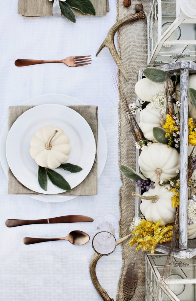 If you're in charge of Thanksgiving this year, you need to look at these Thanksgiving tablescapes ideas. Your guests will love what they see!