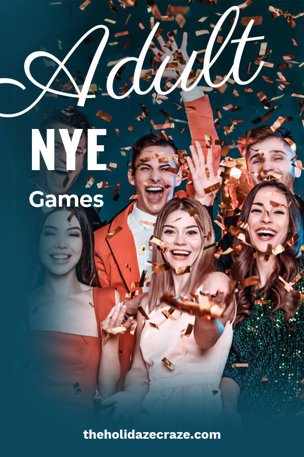 New Year's Eve parties often have a lot of alcohol. And many people don't remember the night once they wake up the next morning. But, you don't have to be drunk to enjoy these adult New Year's Eve games. In fact, remembering them might be the best part because you can play them again over and over. Put down the bottle and have some good old fashioned fun with these games. Make memories that last on New Year's Eve. All the best with this coming year! #adultnewyearsevegames #gamesfornewyearseve