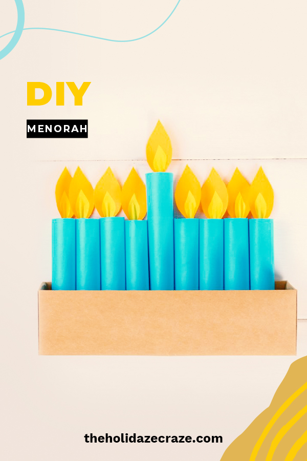 Celebrate your Jewish faith with these DIY menorahs that everyone will love. Enjoy the festival of lights knowing you made your own beautiful menorah. Learn how to make one with these Simple instructions that are easy to follow. Happy Chanukah! #DIYmenorah #chanukah #jewishcelebrations