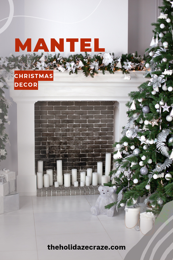 Holiday home decor is such an important part of making your home feel festive and a mantel is the perfect spot to feature some of your favorite holiday decor pieces. We have some creative and fun ideas for mantel decorating that will truly make spirits bright. Don't miss these home decor ideas that are magical. Exactly what you need for the magic of Christmas. #holidaymanteldecorideas #christmasdecorideasformantels