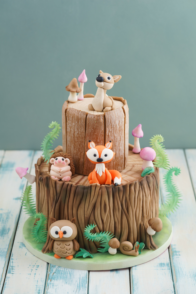 If your kid wants a camping themed party, you're in luck. These camping theme birthday party ideas are amazing! Every camping party needs to have cute little animals you'd find in the real woods.