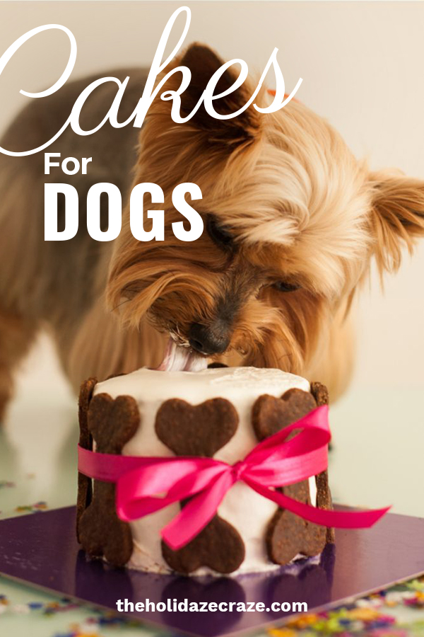 All pet owners love their pets like they are their own babies. When my dogs (yes, I have three) have birthdays, we celebrate. It's party time for my fur babies and nothing screams party more than a cake. But as you know, not all cakes are safe for dogs. I wanted to share with you some cake recipes that your dog will love and are safe for them to eat. These are easy and some even have peanut butter. Make your dogs day special with a delicious dog cake. #dogcakerecipes #dogbirthdaycakedesigns