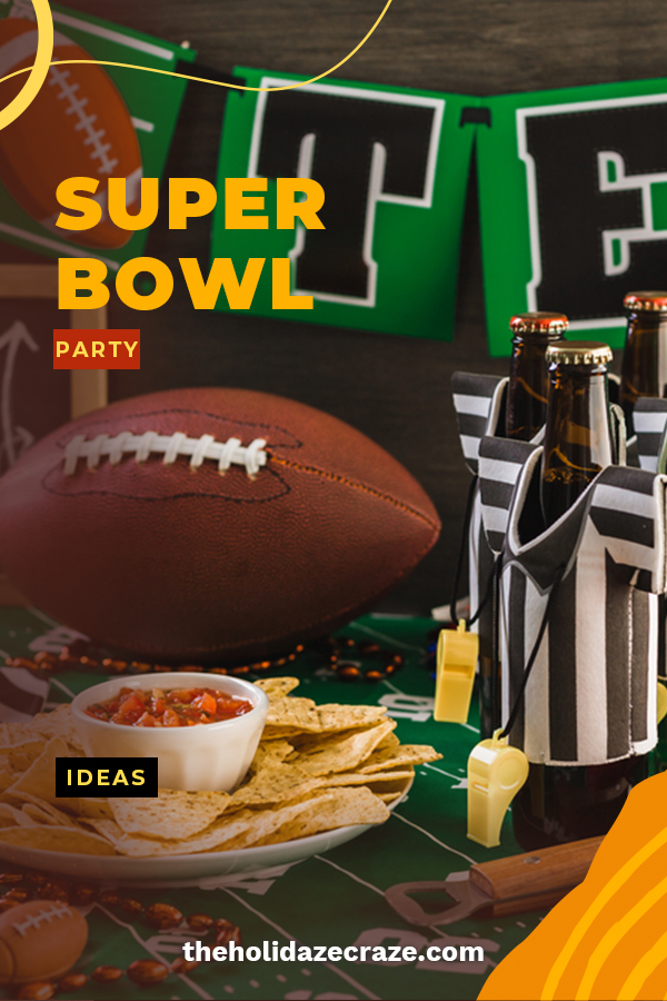 """It's the biggest game of the year and if you are hoping for a """"W"""" you are going to have to be prepared. Don't worry, we are here to coach you and we have some trick plays that will leave party goers dazzled. Get your game face on with food, decor and more. These tips and tricks are guaranteed to get you the Super Bowl """"W"""". Keep reading for the game plan. #superbowlpartyideas #superbowlgamedayideas"""