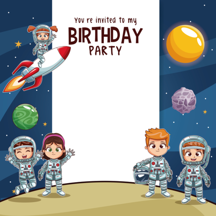 """If you have a kiddo turning two, you need to throw them a """"two"""" the moon birthday party! This cute """"two"""" the moon party invite will help set the tone for the party!"""