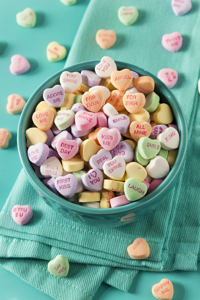 Candy hearts are a staple for Valentine's Day. Here are some ideas on how you can make your own DIY Valentine's candy hearts. You can even make your own candy heart wreath.