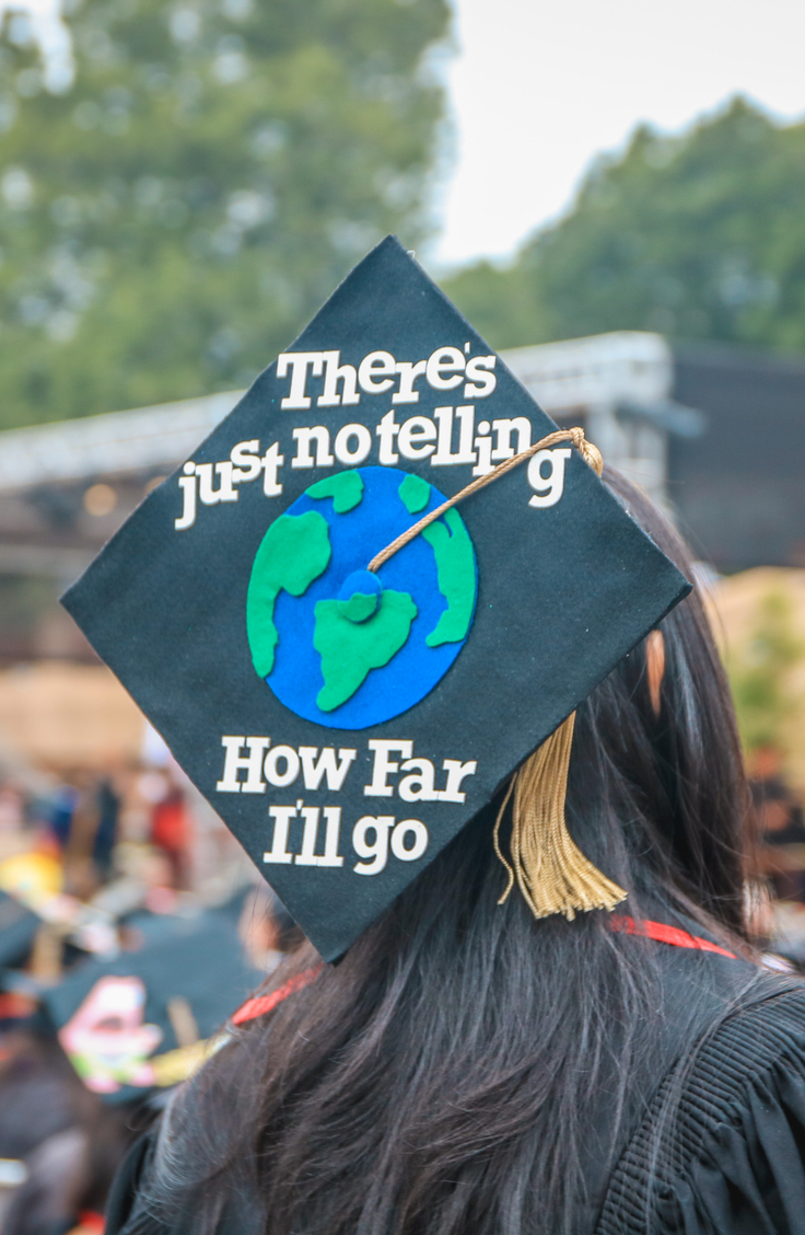 Unique Graduation Cap Desgins To Inspire You On Your Big Day